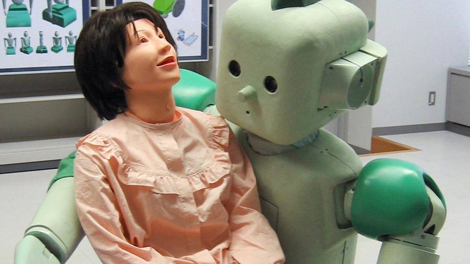 медсестра робот фото